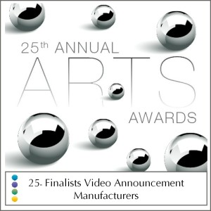 Manufacturer Finalist Video Announcement
